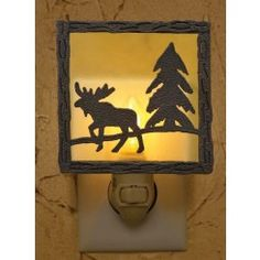 Moose Night Light