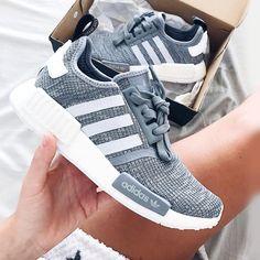 adidas NMD - grau weiß grey Foto: jenniferbergqvist |Instagram