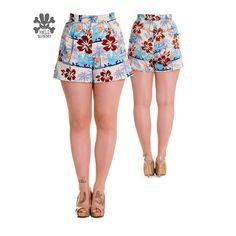 Foksi | Hell Bunny High Waisted 50s style Tiki Shorts - Foksi