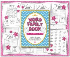 the teacher wife: word family workbook