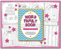 the teacher wife: word family workbook