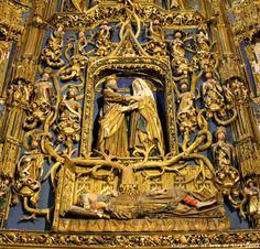 Retablo del Árbol de Jesé (Capilla de la Concepción, Catedral de Burgos)