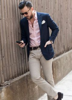 Casual chic. Summer wedding suit ideas grooms #groom #suit