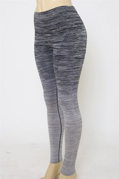 Comfortable, high waist-ed athletic pants. Pair with our matching sports bra! Machine Washable- 60% Nylon, 28% Polyester, 12% Spandex-Model Height: 5 ft. 7 in. We recommend sizing up for comfort in ac