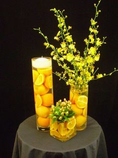 Holiday Decor, Zesty Lemon Edition - HomeDecorDesigns.com