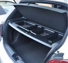 1pc Car Rear Tail Trunk Storage Box Tank Space Glove Holder Container Organizer Board For Volkswagen VW Golf 6 MK6 GTI / R20