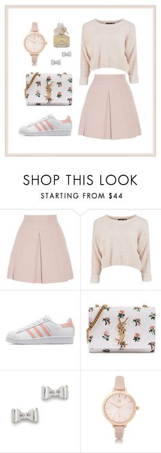 """angelhazelhazel"" by angelliu1031 ❤ liked on Polyvore featuring Alexander McQueen, adidas Originals, Yves Saint Laurent, Marc by Marc Jacobs and River Island"