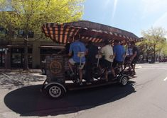 Book a Cycle Pub Tour in Bend Oregon. Pedal the Pub on Wheels. Beer Bike, Bend, Brewery, Baby Strollers, Fun Facts, Cycling, This Is Us, Wheels, Tours