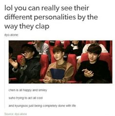 Exo clapping