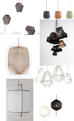 Fabric lamps trend A selection of best 7+ #fabric #lamps on http://www.italianbark.com/fabric-lamps-trend-designtime-08/   #lighiting #trends #koushi #z1