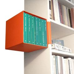makes a designer item out of each ordinary IKEA Billy. changes your standard white bathroom shelf into a colourful and functional object with space for cosmetics and toiletries  http://www.iidee.eu