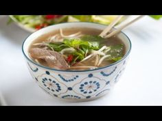 How to Make Pho Soup - Vietnamese Beef Noodle Pho Recipe