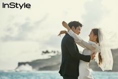 Joo Sang Wook and Cha Ye Ryun for Instyle Korea June Just married Movie Couples, Famous Couples, Cute Couples, Joo Sang Wook, Wedding Photoshoot, Wedding Pics, Sweetest Devotion, Yoo Ah In, Cover Model