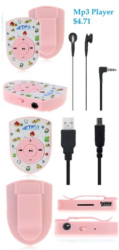 Angry birds Mp3 Player Music Design Cute Small Music Gadget #angry #birds #music #player $4.73