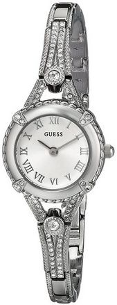 cool Women's U0135L1 Petite Vintage-Inspired Embellished Silver-Tone Watch - For Sale Check more at http://shipperscentral.com/wp/product/womens-u0135l1-petite-vintage-inspired-embellished-silver-tone-watch-for-sale/