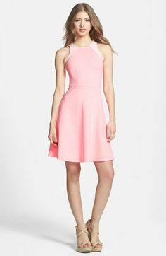 MM Couture Cutaway Bodice Fit & Flare Dress available at #Nordstrom