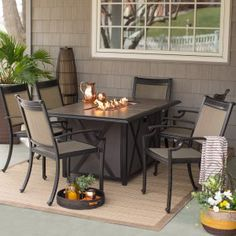 fire pit table with chairs. fire pit table with chairs