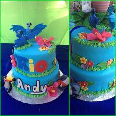 Rio birthday cake