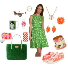 i'm a preppy kate spade girl @ heart, created by traci-dis on Polyvore