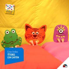 ¡La imaginación no tiene límite cuando se hacen títeres! #Sodimac #Homecenter #Peru #juego #juguete #imaginación #títere #ManosAlaObra #ManitosAlaObra