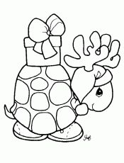Learning Friends Rabbit baby animal coloring printable