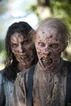 Zombies from The Walking Dead Season 4.5