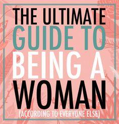 Les 67 commandements (imposés) de la femme moderne