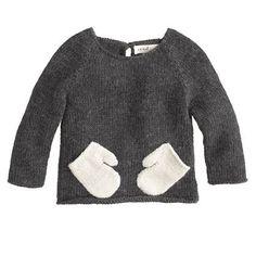 Hug Me Sweater by Baby Oeuf