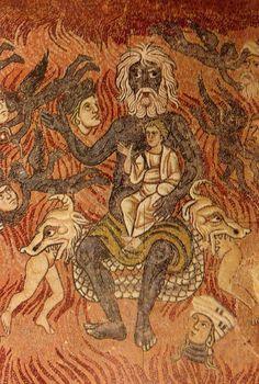 Satan-Torcello-mosaïque XIII°s