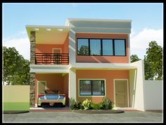 2 Story Home Designs Philippines house design Affordable house plans Modern small house design