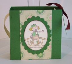 Girl Scout Bridging Tote by mom2kaynky - Cards and Paper Crafts at Splitcoaststampers