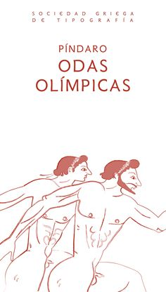 Pindar's Olympic Odes / Spanish. Athens Olympics 2004. Book cover design by George D. Matthiopoulos