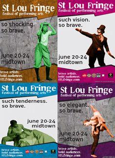 St. Lou Fringe begins NOW!!!