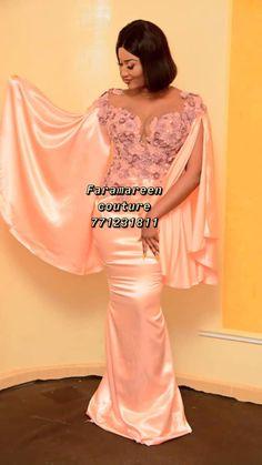 African Wear Dresses, African Attire, Simple Dresses, Casual Dresses, Hijab Casual, Dresses Dresses, Party Dresses, Bridesmaid Dresses, Elie Saab Dresses