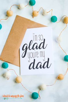 Free Printable Cute Fathers Day Poems on Greeting Cards   Three Designs Available