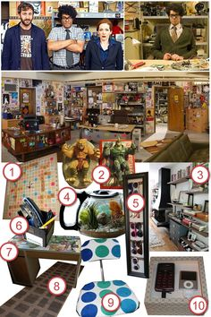 IT Crowd Office · DIY The Room · Cut Out + Keep Craft Blog
