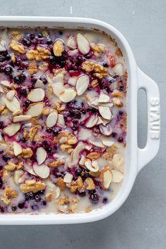 Millet Recipes Breakfast, Clean Eating Breakfast, Vegetarian Breakfast, Breakfast Bake, Best Breakfast, Brunch Recipes, Vegan Recipes, Cooking Recipes, Plant Based Breakfast