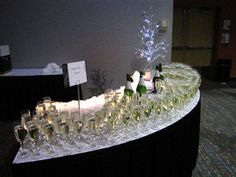 Weddings & Events at Black Bear Casino Resort are special. You can set up a table for your toast!