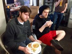 Don't let their mean mugs fool you, they love potlucks. #SKfamily #meanmuggin #potluck