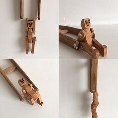 Jintahas | 遊び人  #toy#oldtoy#木工#asobi#郷土玩具#玩具#tatamiantiques#human #tatamiーantiques  #回転#古道具#craft#woodencraft  #old#木彫#analog
