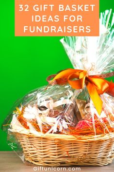 Having a fundraiser is excellent for raising money for a wide variety of causes. No matter if your child's school needs new playground equipment or you're hosting a fundraiser for a local family in need, using gift baskets will help that effort along. The following gift basket ideas for fundraisers cover a broad range of ideas, and it's our hope they'll inspire your buying decisions during your next charitable event. #fundraiser #fundraisers #giftbaskets #giftbasketideas #fundraising
