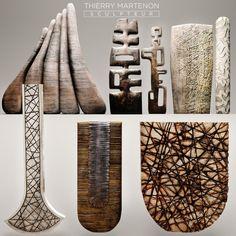 Sculpture collection Thierry Martenon 3D Model .max .c4d .obj .3ds .fbx .lwo .stl @3DExport.com by deckorator @3