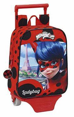Oferta: 21.14€ Dto: -12%. Comprar Ofertas de Safta Ladybug Mochila escolar, 28 cm, Rojo barato. ¡Mira las ofertas!