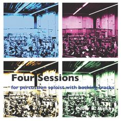 Four Sessions for drums and percussion cover art