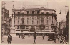 1920 - Praça do Patriarca - Rua Direita, Quitanda e Mappin - DCP