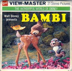 Bambi View-Master Reel
