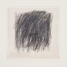 Cy Twombly / Untitled, 1955