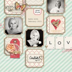 April Sahlin Studio Template Challenge, layout by breeoxd