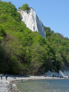 Jasmund National Park - Chalk Cliffs at Stubbenkammer, Germany #wirsindinsel! #rügen