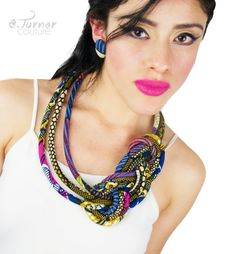 Tribal Necklace in sailors knot Sailor Knot by ETurnerCouture